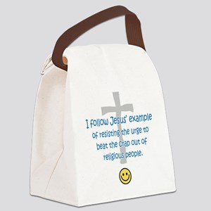 sacredo-jesusexampl Canvas Lunch Bag